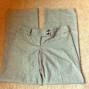 Ann Taylor Loft Marissa dress pants gray 00P EUC